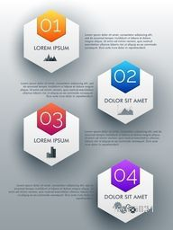 Creative business infographic template layout, Can be used for workflow layout, diagram, web design and presentation.