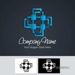 Creative business symbol for your organisation and factory.