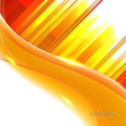 Creative abstract background with stripes, waves and lens flare lighting effect.