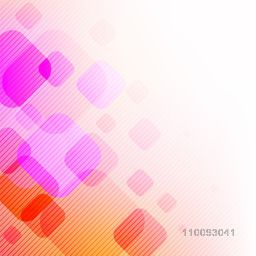 Abstract geometric background with lines and colorful squares.