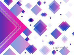 Creative abstract geometric background with shiny squares.